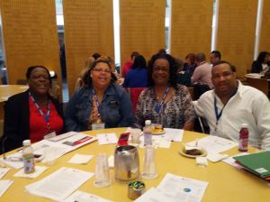 Esther, LaSean, Valerie and Terry