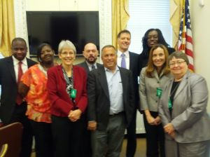SASI delegation meets with White House Director of the Office of National HIV/AIDS Policy, Dr. Grant Colfax