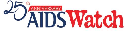 AIDS Watch 2018 logo